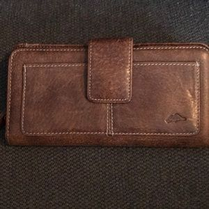 Roots Leather Wallet